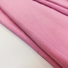 Футер 2х нитка с лайкрой розовый . Цена за кг.