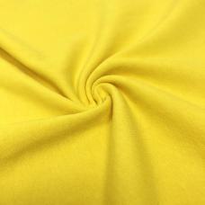 Кулирка однотонная цвет желтый. Цена за кг.