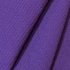 Ткань на отрез  вафельное полотно гладкокрашеное цв. фиолетовый, 150 см
