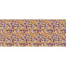 Бязь плательная на отрез  150 см, рис. 1604 вид 3