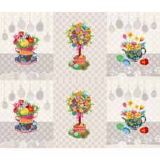Вафельное полотно Пасхальное дерево (3020-3)