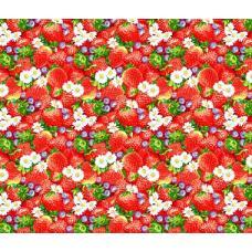 Вафельное полотно Клубничное настроение (415)