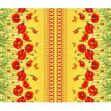 Вафельное полотно Маков цвет (438-3)