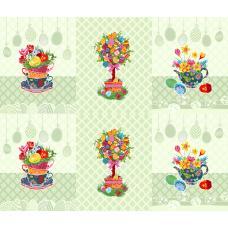 Вафельное полотно Пасхальное дерево (3020-2)