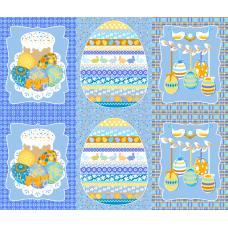 Вафельное полотно  Пасхальная открытка (451-1)