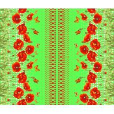 Вафельное полотно Маков цвет (438-2)
