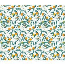 Вафельное полотно на отрез  Персики (3015)