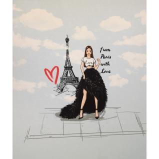 Футер диджитал 70см высота х 60 см ширина Париж