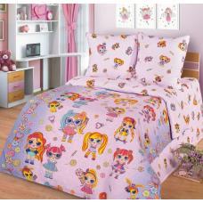 """Детское постельное бельё  поплин в кроватку  """"Лолита"""""""