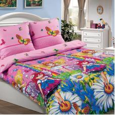 """Детское постельное бельё  поплин в кроватку  """"Маленькая фея"""""""