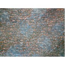 Ткань  Рибана с лайкрой с начесом 2х100 см
