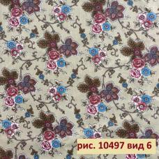 Ткань бязь на отрез  10497-6