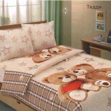 """Бязь в кроватку  """"Тедди"""""""
