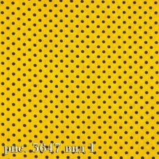 Ткань на отрез бязь плательная №1556/6 цвет бирюза