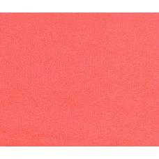 Махровая ткань цвет коралл 115см*2.(цена за кг)