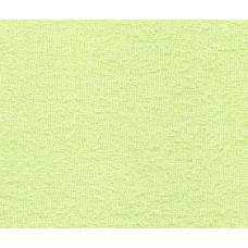 Махровая ткань цвет салатовый 115*2см.,160гр/м2(цена за кг)