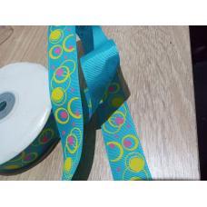Репсовая декоративная лента   - 25 мм.