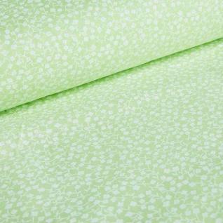 Ткань на отрез бязь плательная №1672/2 цвет салатовый