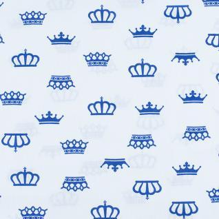 "Бязь ""Короны"" на белом 369-21"
