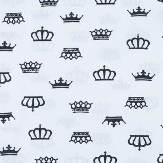 "Бязь на отрез ""Короны"" на белом 369-25"