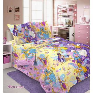 Ткань бязь Феи снов   9364