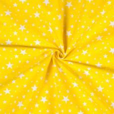 Ткань на отрез бязь плательная №1556/9 цвет желтый