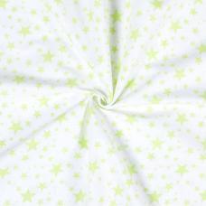 Ткань на отрез бязь плательная 1556/10А цвет салатовый