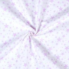 Ткань на отрез бязь плательная 1556/8А цвет розовый