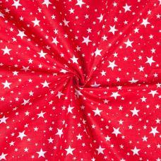 Ткань на отрез бязь плательная арт. 1556/4 цвет красный