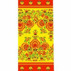 Ткань на отрез вафельное полотно набивное, 80 см №74652