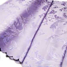 Портьерная ткань с люрексом Х7187 цвет №4 фиолетовый (ветка) 150 см