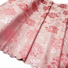 Портьерная ткань с люрексом Н627 цвет №2 розовый 150 см