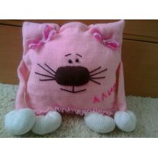 Кото-подушка