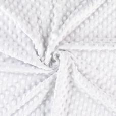 Плюш  белый  «Минки» 37-1