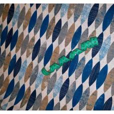 Ткань на отрез полулен 11575-1 отбеленный