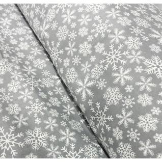 Ткань 1827-1 поплин детский «Снежинки»