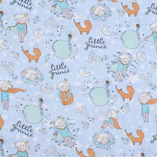 """Ткань поплин 2092 """"Маленький принц"""""""