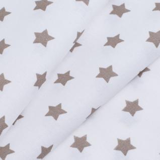 Ткань на отрез  390а-18 поплин детский «Звездочки»