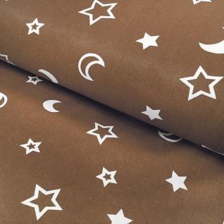 Ткань на отрез 394-18 поплин детский «Ночка»