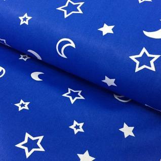 Ткань на отрез 394-21 поплин детский «Ночка»