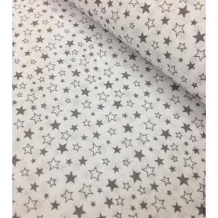 Ткань на отрез 396а-17 поплин детский «Звездопад»