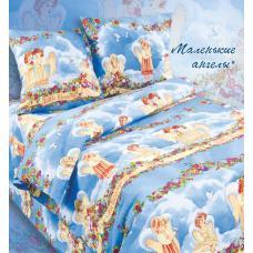 Ткань  поплин Ангелочки 4220/1  t