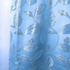 Шторы Марта 300/200 см цвет голубой