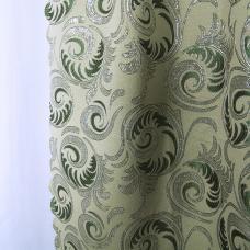 Шторы Марта 300/200 см цвет зеленый