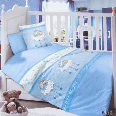 Постельное белье в детскую кроватку KT15 сатин