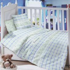 Постельное белье в детскую кроватку KT22 сатин