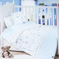 Постельное белье в детскую кроватку KT24 сатин