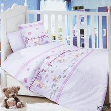 Постельное белье в детскую кроватку KT25 сатин