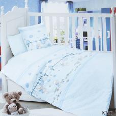 Постельное белье в детскую кроватку KT27 сатин