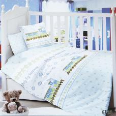 Постельное белье в детскую кроватку KT28 сатин